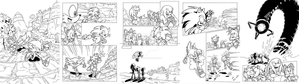 Sonic Boom Archie portfolio by ThePandamis