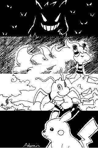 Miiverse Pokemon by adamis