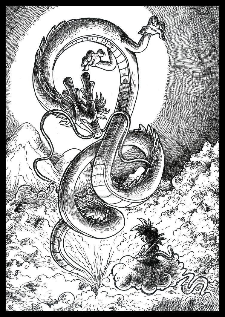 Dragon Ball by ThePandamis