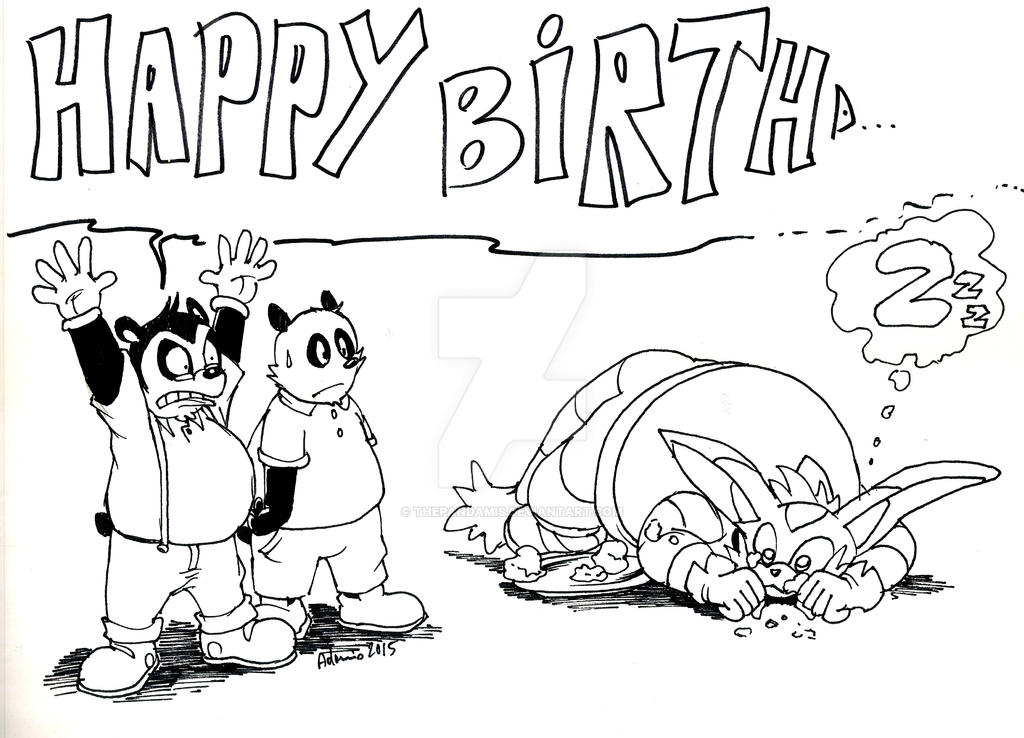 Happy birthd... by ThePandamis