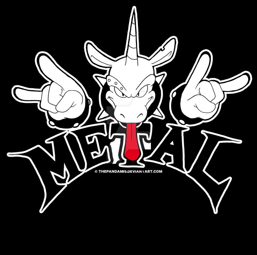 Metal Unicorn by ThePandamis