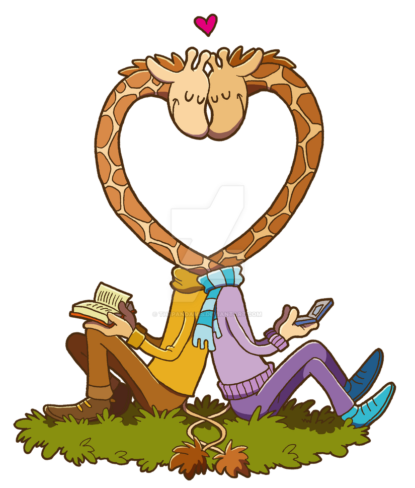 Love Giraffes by ThePandamis