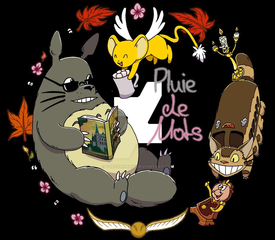 Commission : Pluie de mots 2 by ThePandamis