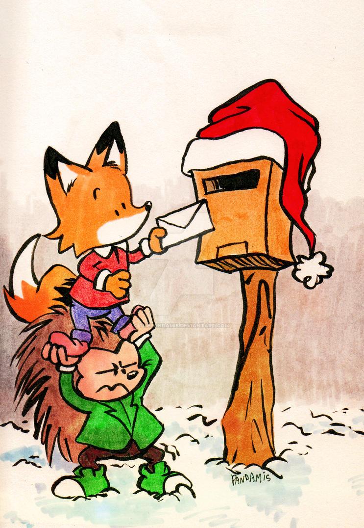 Christmas mail by ThePandamis