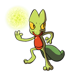 Treecko uses Energy Ball by ThePandamis