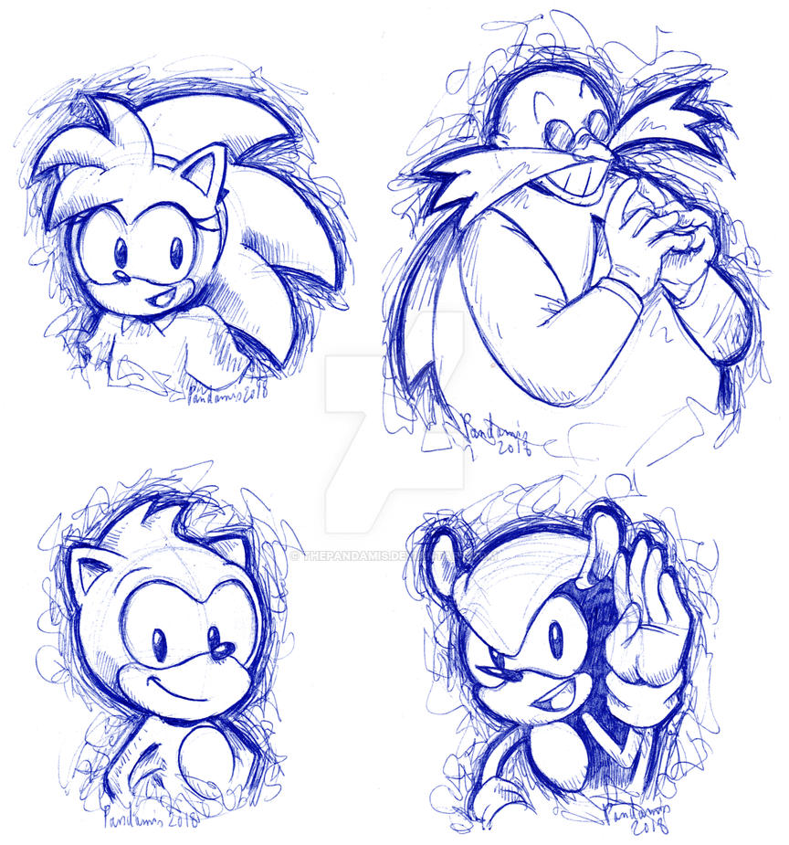 Classic sketches by ThePandamis