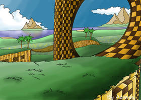 Emerald Hill Zone by ThePandamis