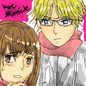 Hot Gimmick..Hatsumi and Ryoki by pinkxish