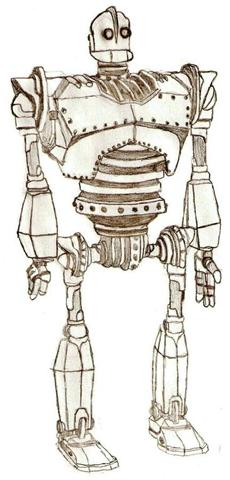 The iron giant by frozenheartstables on deviantart for Iron giant coloring pages