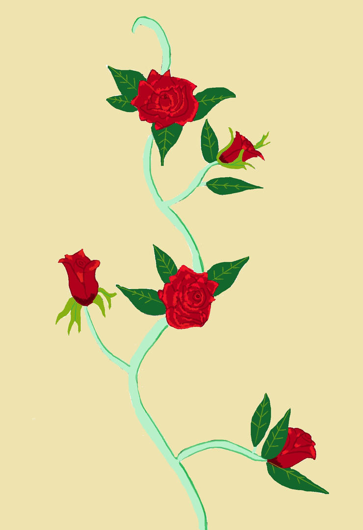 rose and vine wallpaper - photo #19