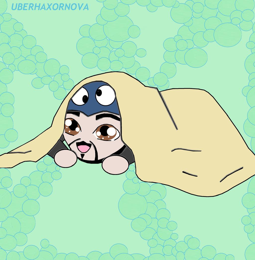Uberhaxornova Chibi Under Covers by animedugan on deviantART Uberhaxornova Fan Art