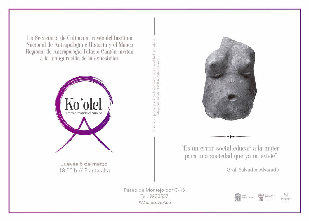 Exposicion Ko'olel transformando el camino