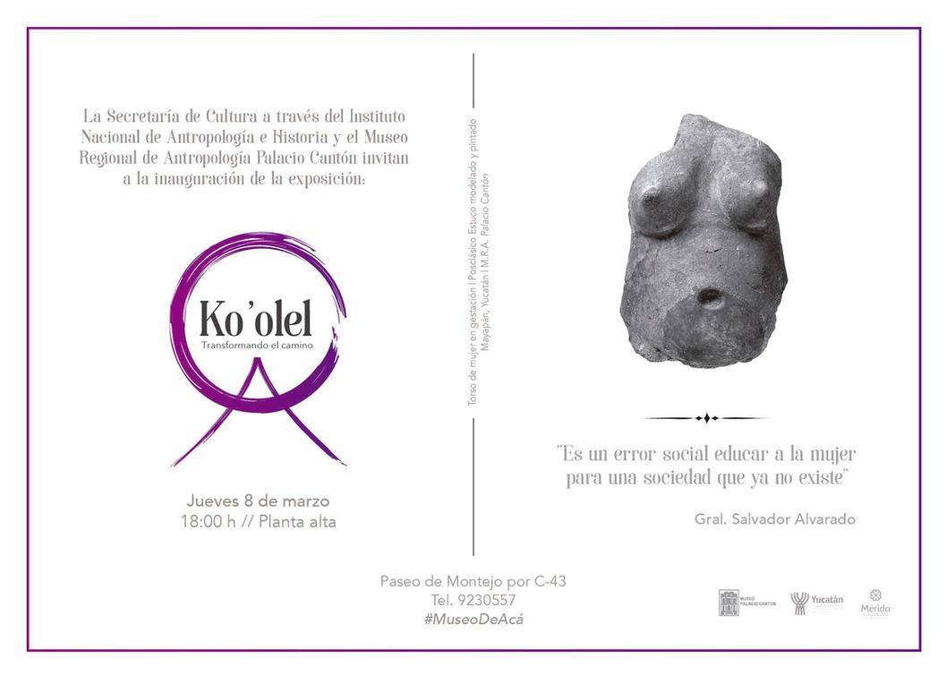 Exposicion Ko'olel transformando el camino by Vanimelir