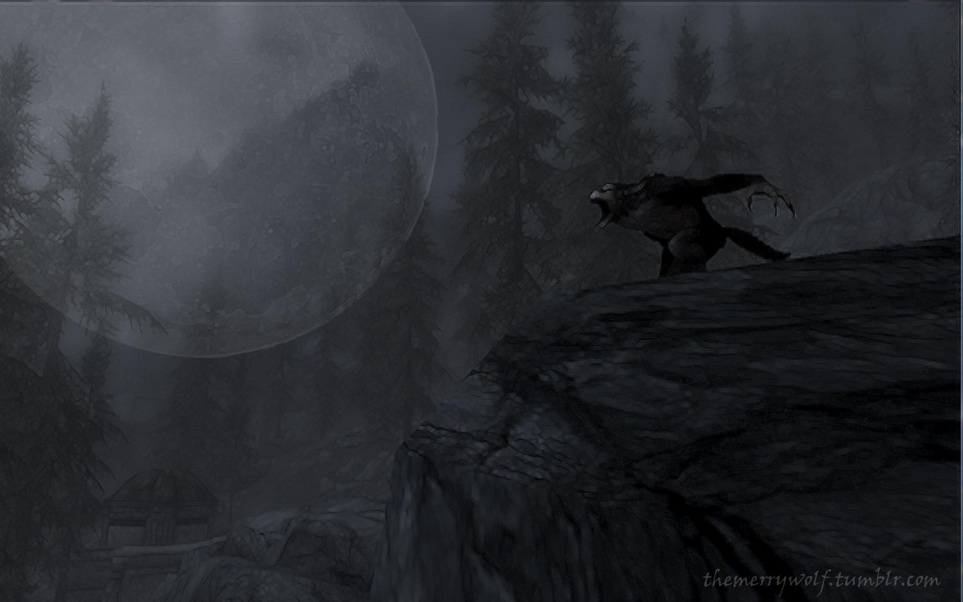 Skyrim werewolf wallpaper hd - photo#2