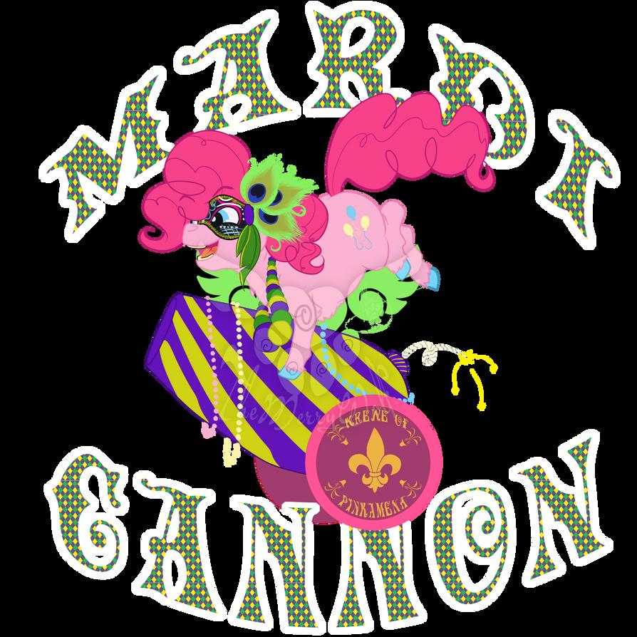 Pinkie Mardi Gras Pie by TheMerryWolf