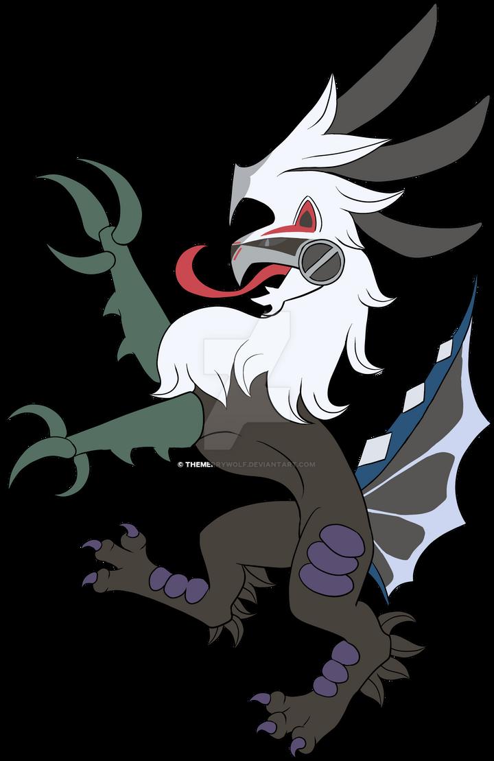 Heraldry Silvally Dark Type by TheMerryWolf