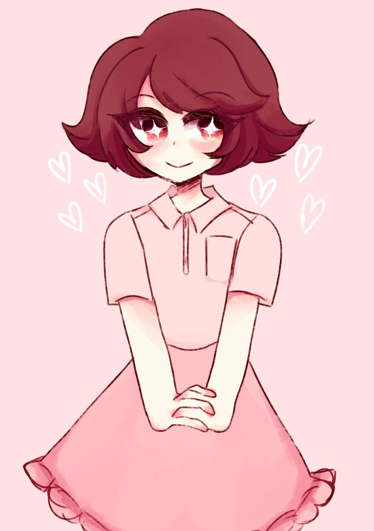 pink kiddo by poor-machine