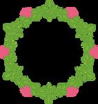 Corona de flores PNG