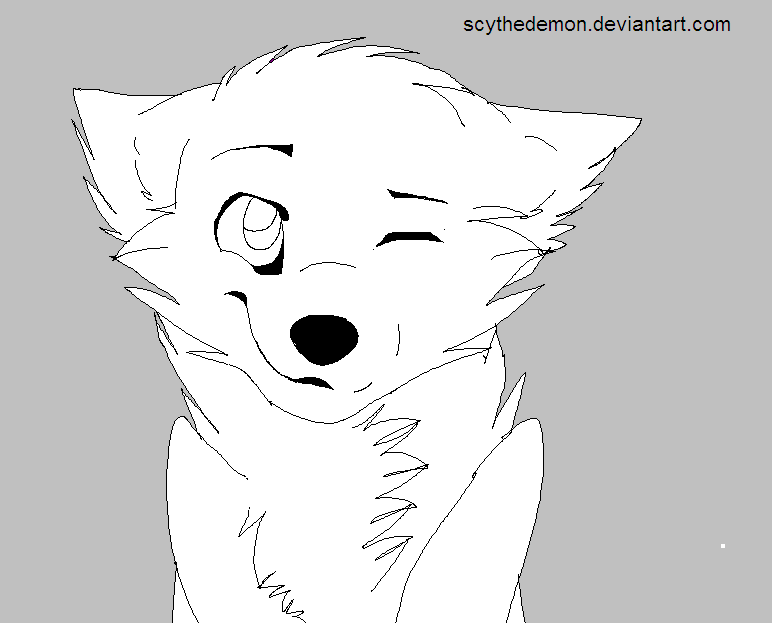 angry arctic wolf coloring pages - photo#30