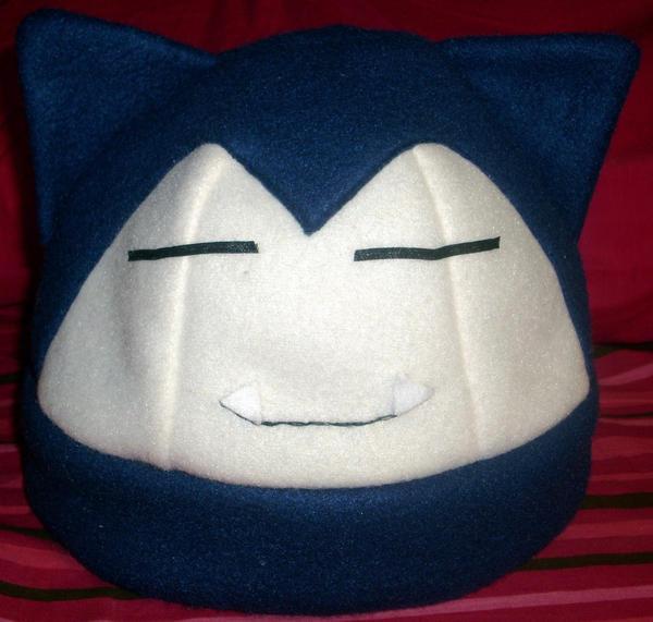 Snorlax Hat by PyrgusMalvae