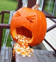 Puking Pumpkin by MuseofMemory