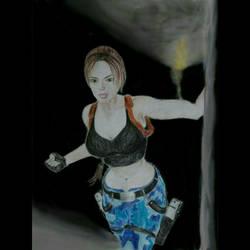Lara Croft: Tomb Raider III, Nevada/Area 51 by damracroft