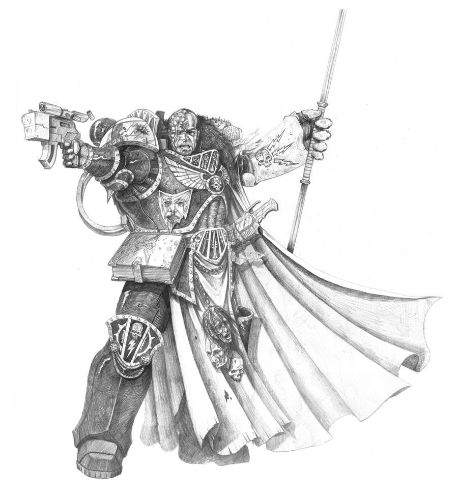 Black Templar Imperial Fists Hybrid Paint