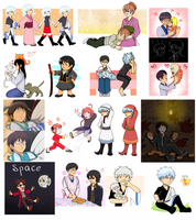 Gintama things by Shokly