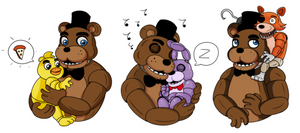 Five Nights at Freddys kindegarden