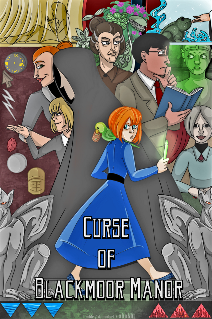 Nancy Drew: Curse of Blackmoor Manor by Shokly