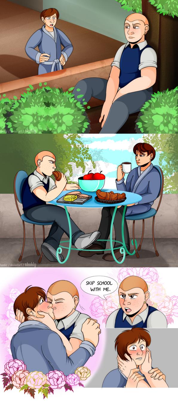 [BULLY] Breakfast at Harrington's