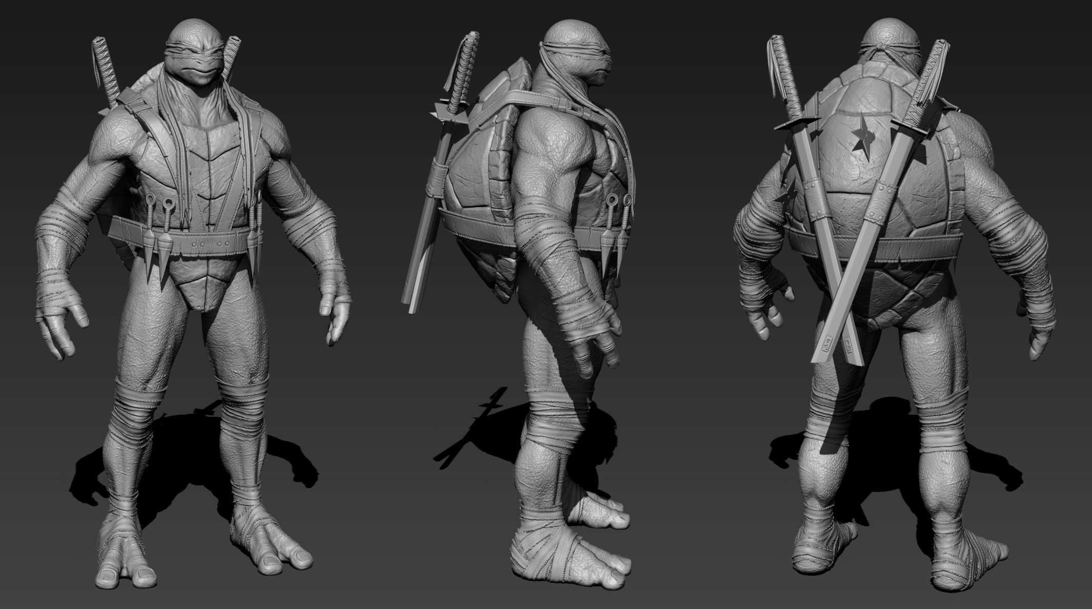 tmnt_leonardo___high_poly_by_j_l_art-d831zfe.png
