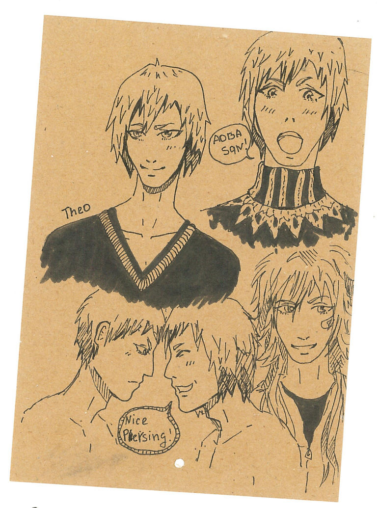 Drama cd sketches by MagicReO