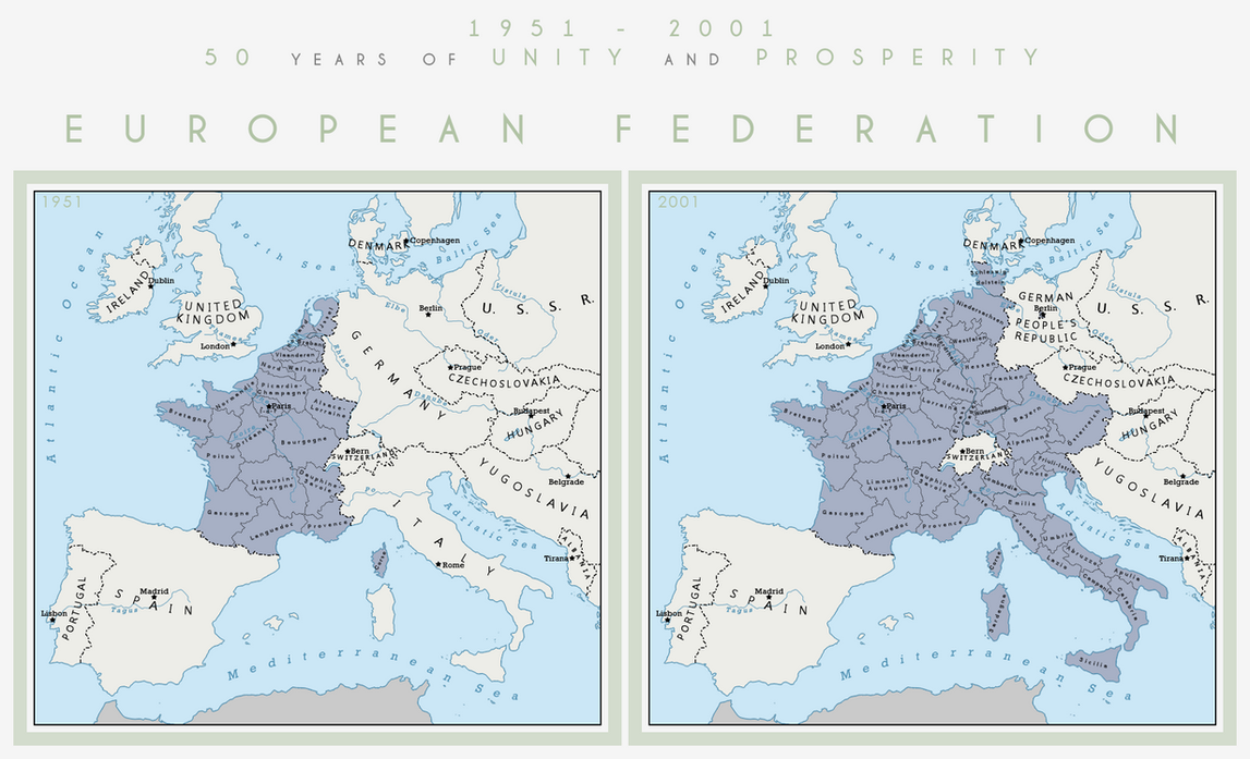 The European Federation by 1Blomma