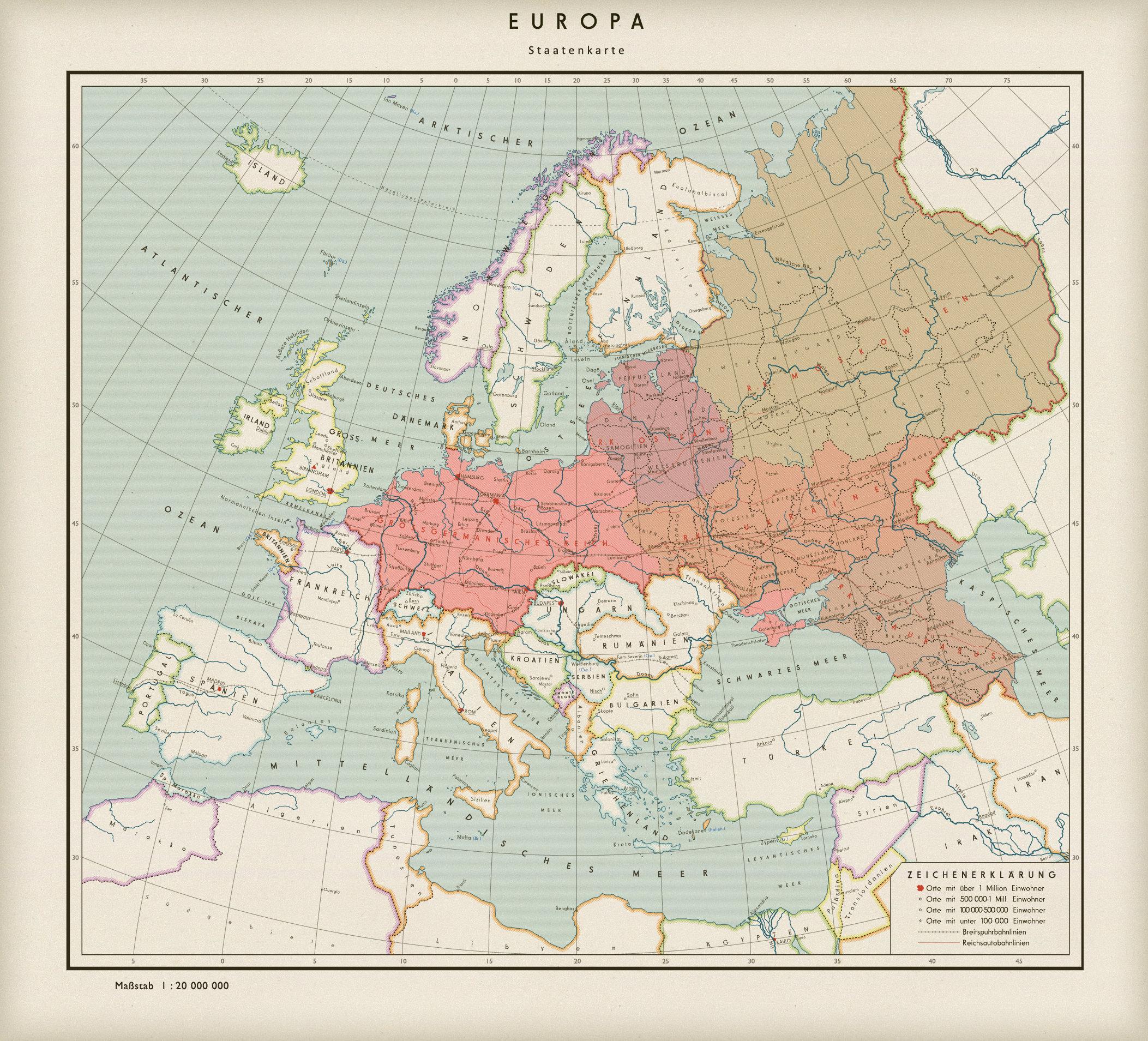 Die Neuordnung Europas