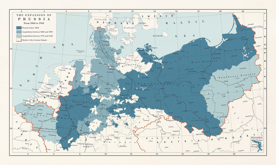 prussia and germany relationship with the united