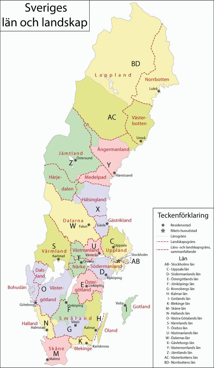 Sverige / Sweden by 1Blomma