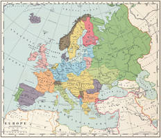 Europe after a Central Powers victory