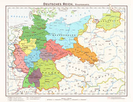 Hugo Preuss' States of Germany by 1Blomma