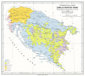 Croatian Kingdom in an Austrian Triple Monarchy by 1Blomma