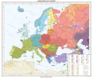 Languages Of Europe by 1Blomma