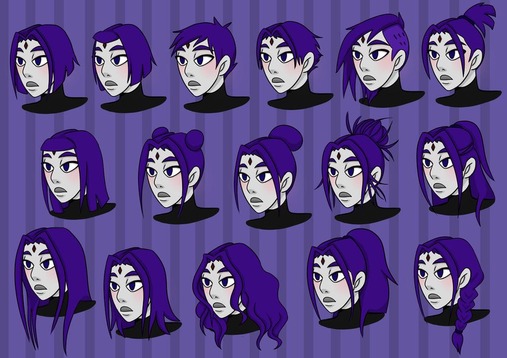 Raven Hair Styles By Mojoromo On Deviantart