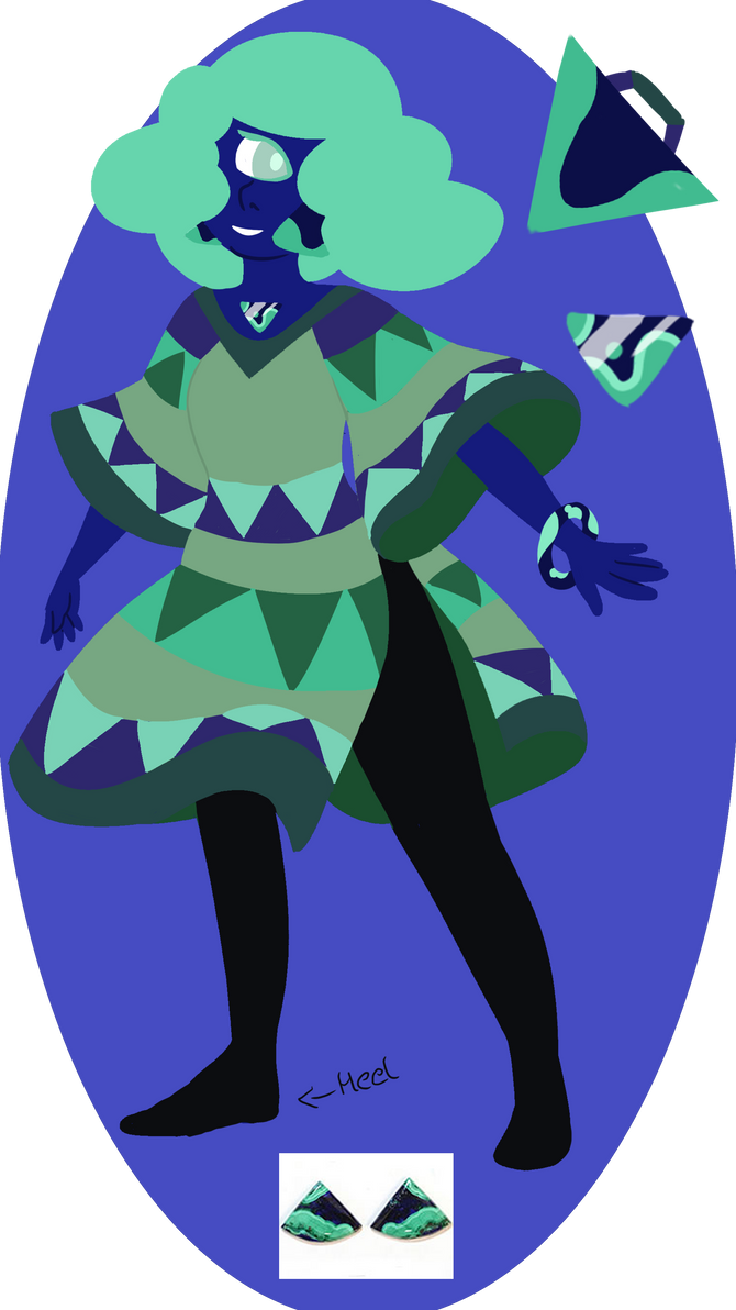 Su OC Azurite by mojoromo on DeviantArt