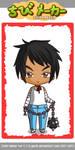 Ninja Girl Mai chibi by TrippyHippyJinx