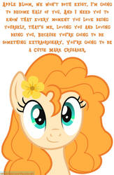 Pear Butter's Message to Apple Bloom