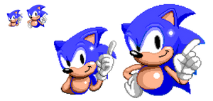 Sonic Mania x Sonic The Hedgehog (Pixel Art)