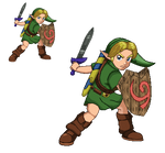Young Link - Ultimate (Pixel-Art)