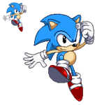 Classic Sonic (Pixel-Art)