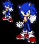 Sonic - Forces (Pixel-Art)