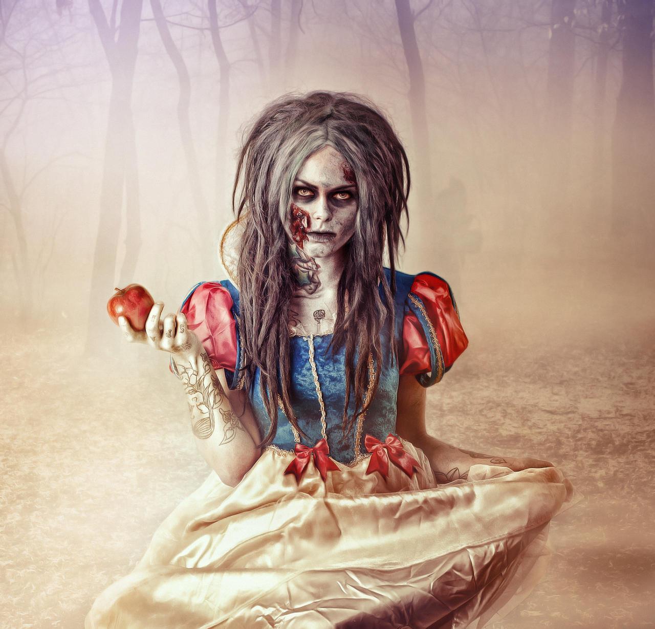 Snow White zombie by G-10gian82